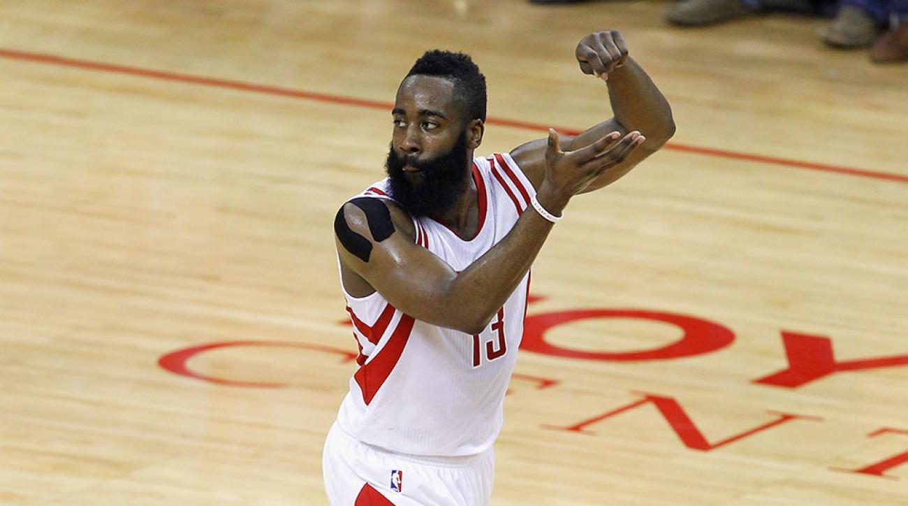 Rockets James Harden Lil B curse lifted