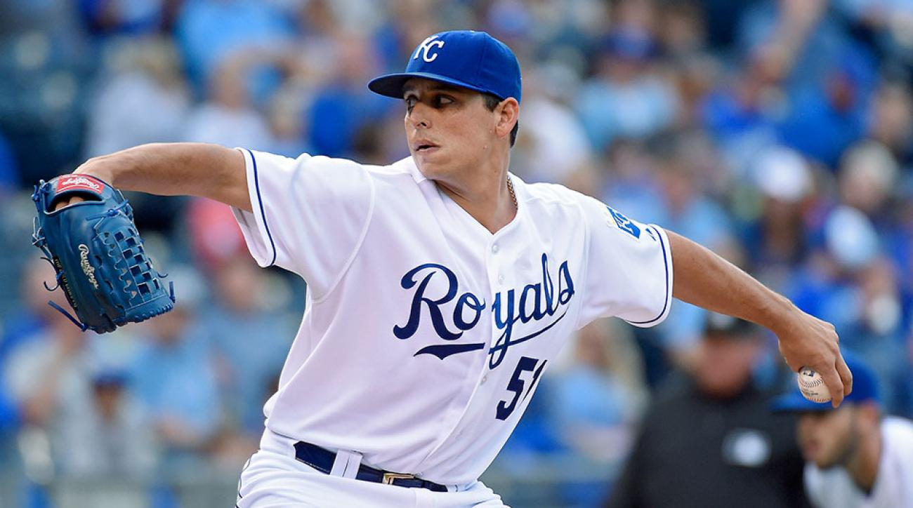 Kansas City Royals Jason Vargas disabled list