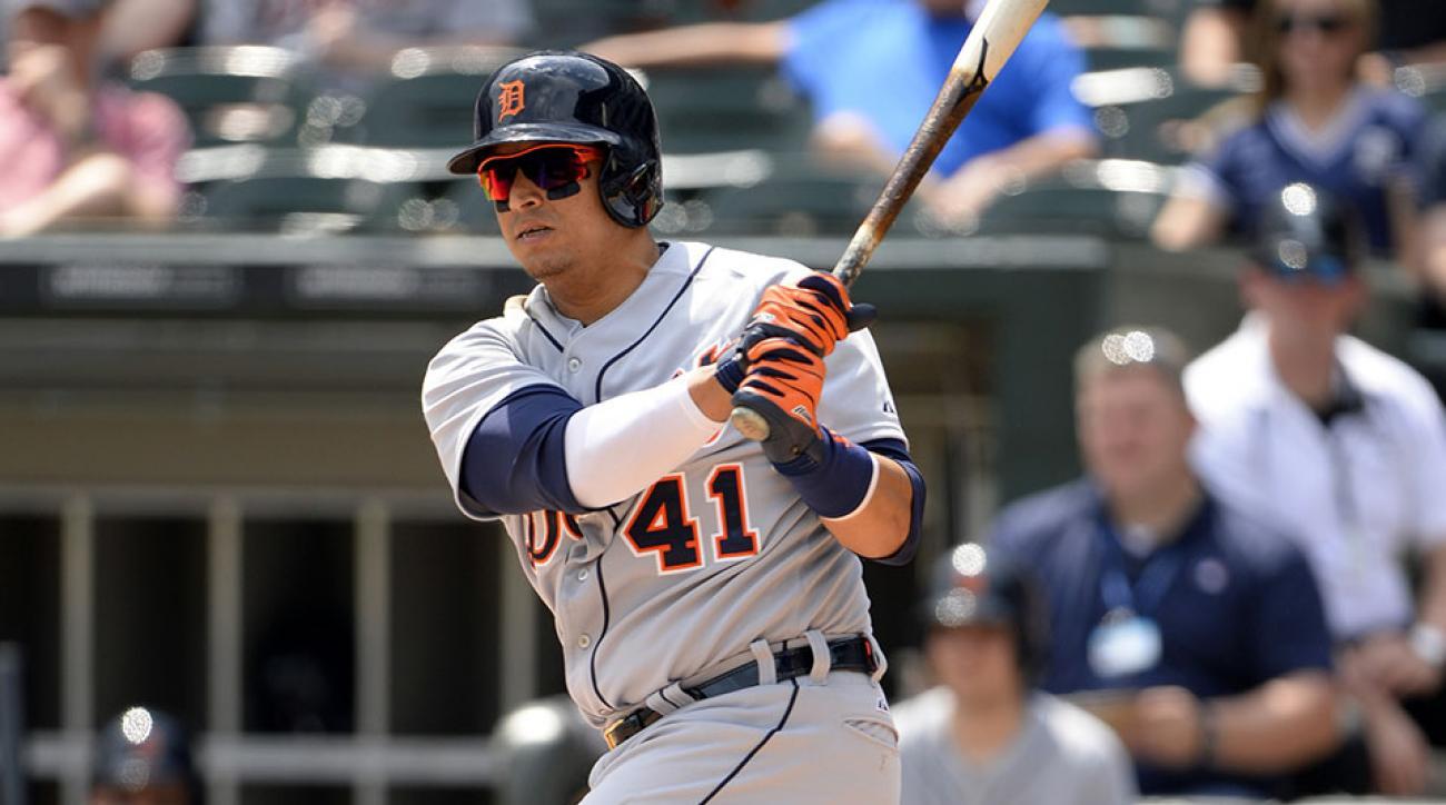 Detroit Tigers Victor Martinez rehab assignment