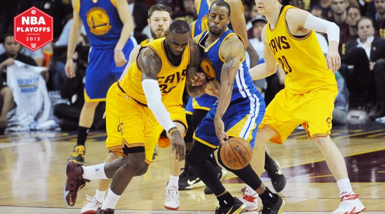 LeBron James and Andre Iguodala