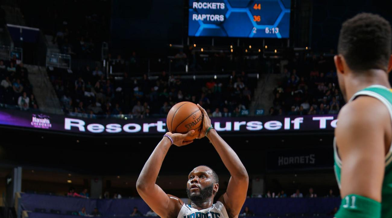 charlotte hornets al jefferson option contract