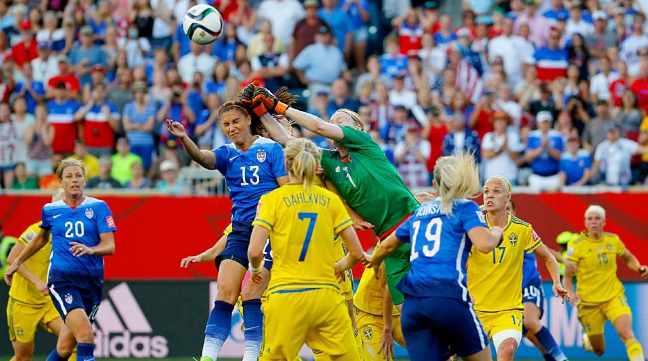 United States women's nation team vs. Sweden