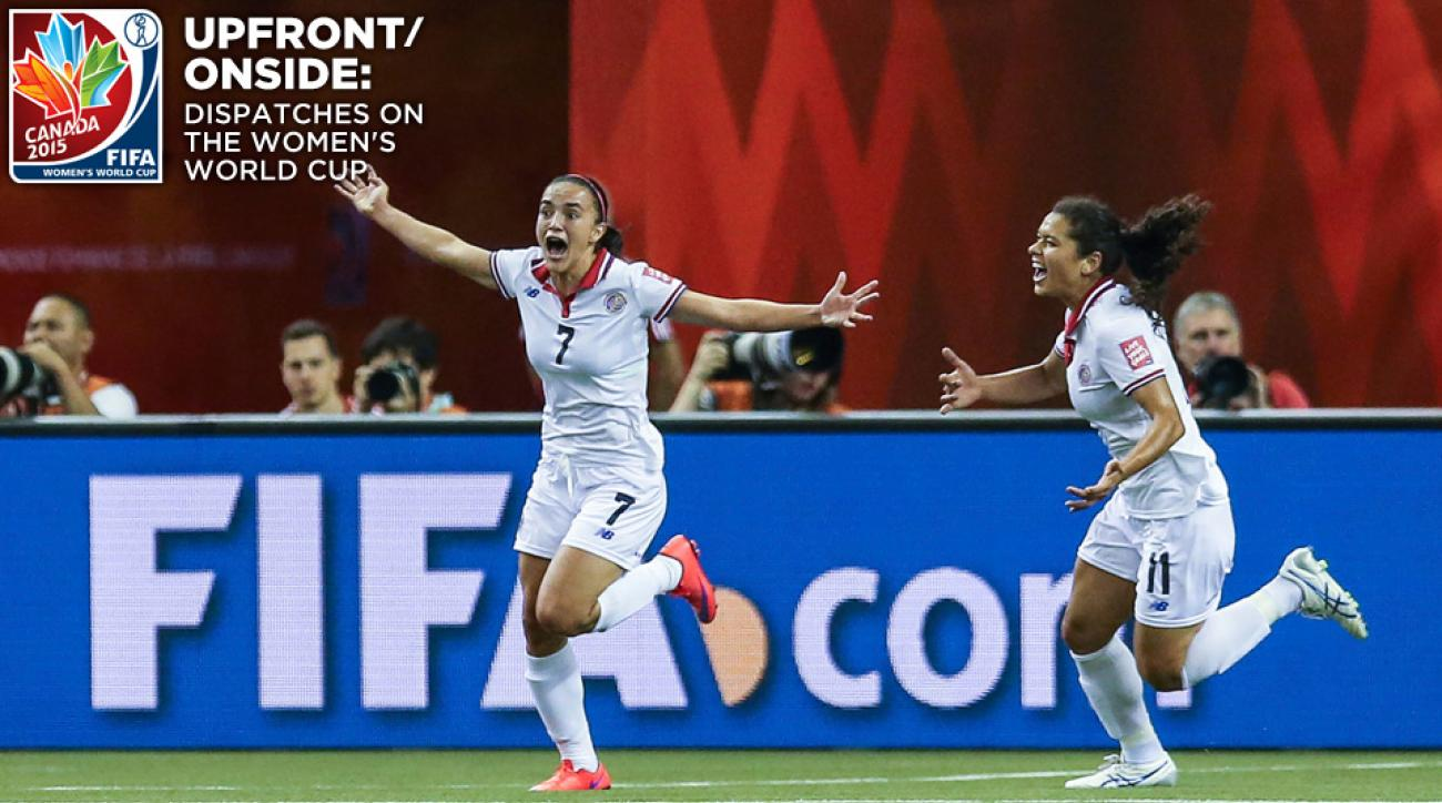 Costa Rica's women's team has made a strong impression in its first World Cup
