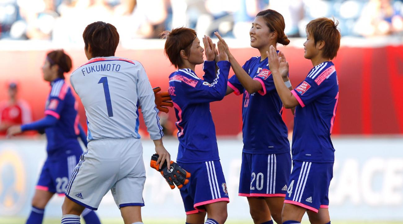 Japan beat Ecuador in the Women's World Cup to top its group