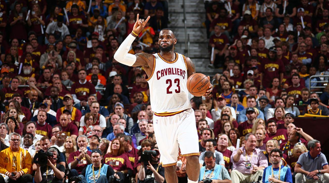 super popular 30e40 11962 LeBron James sets NBA Finals record in losing effort to ...