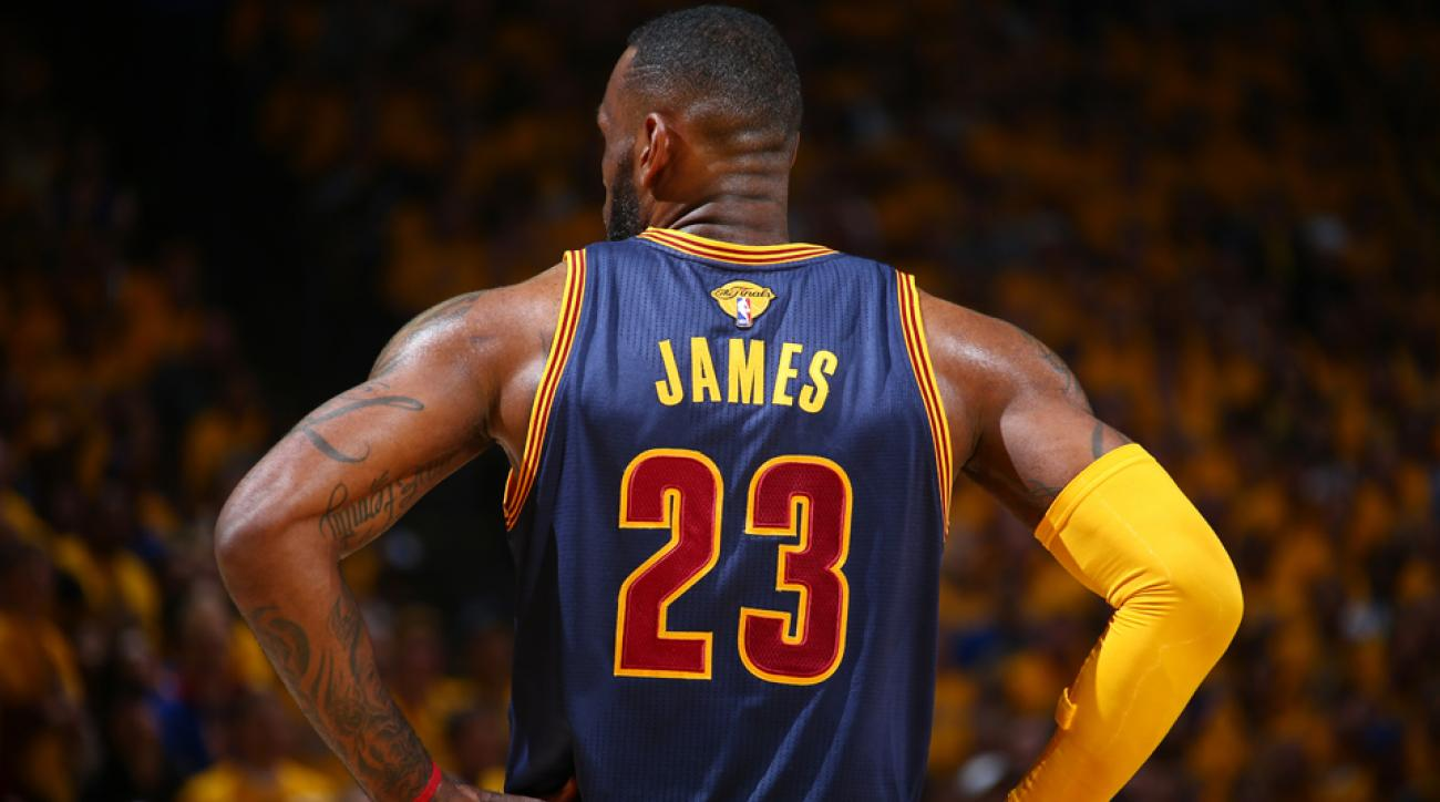 7349451264b LeBron James could win MVP honors in the NBA Finals even if the Cleveland  Cavaliers lose