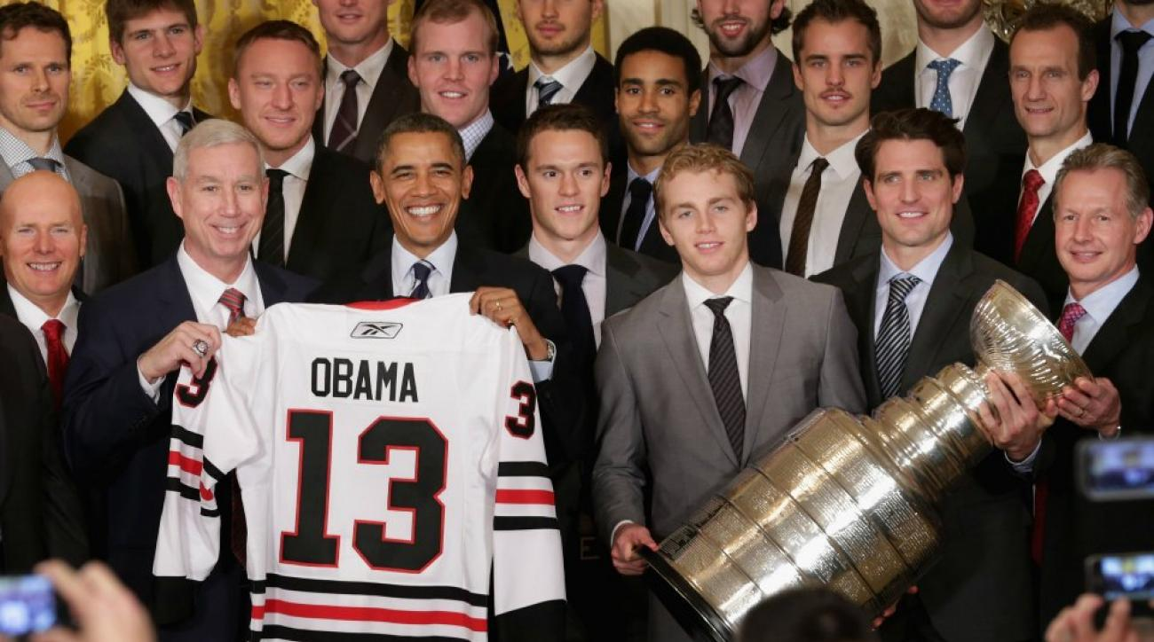 Chicago Blackhawks get a tweet from President Obama