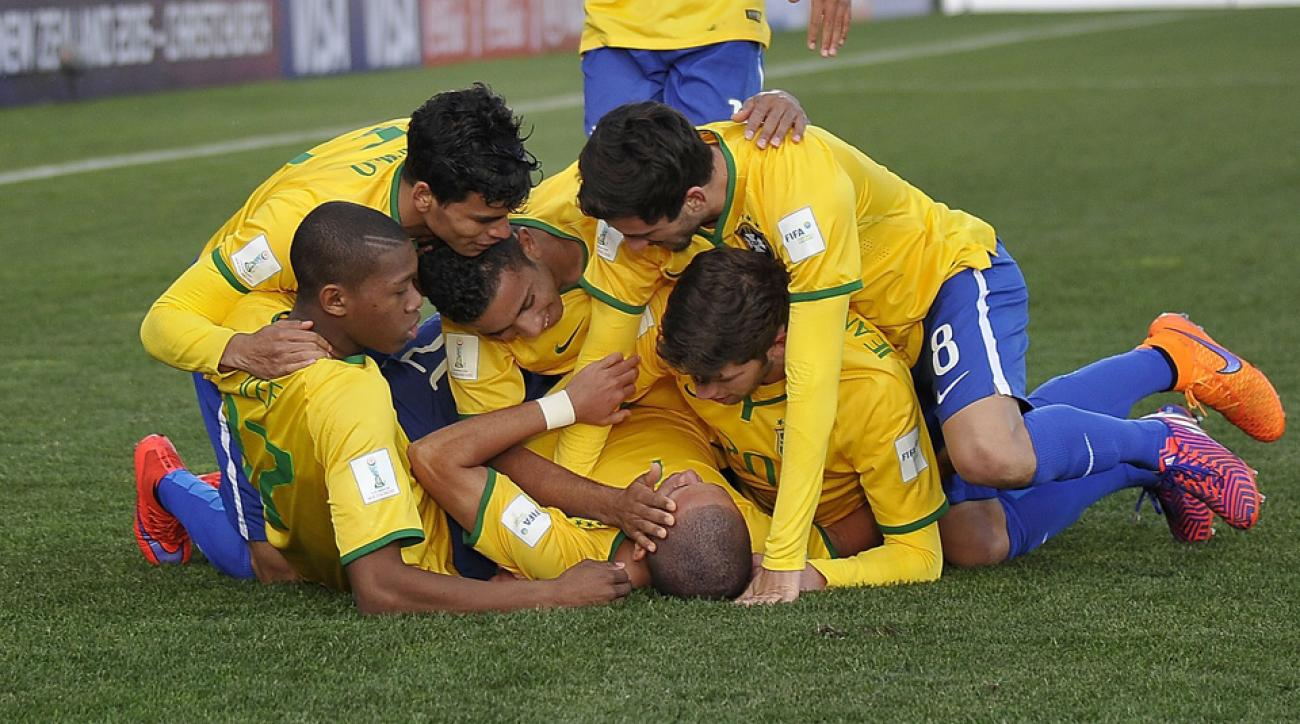 Brazil routed Senegal 5-0 in the U-20 World Cup semifinals