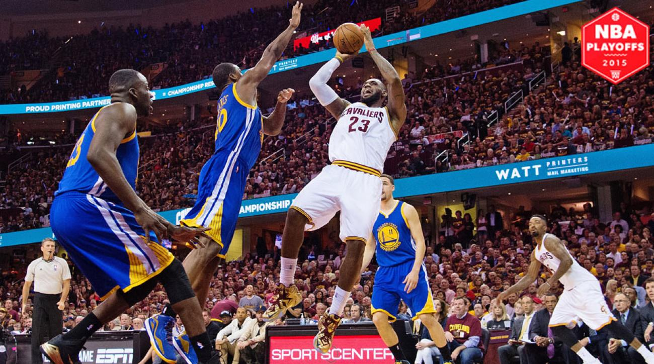 LeBron James and the Cavaliers fell to the Warriors in Game 6 to lose the NBA Finals.