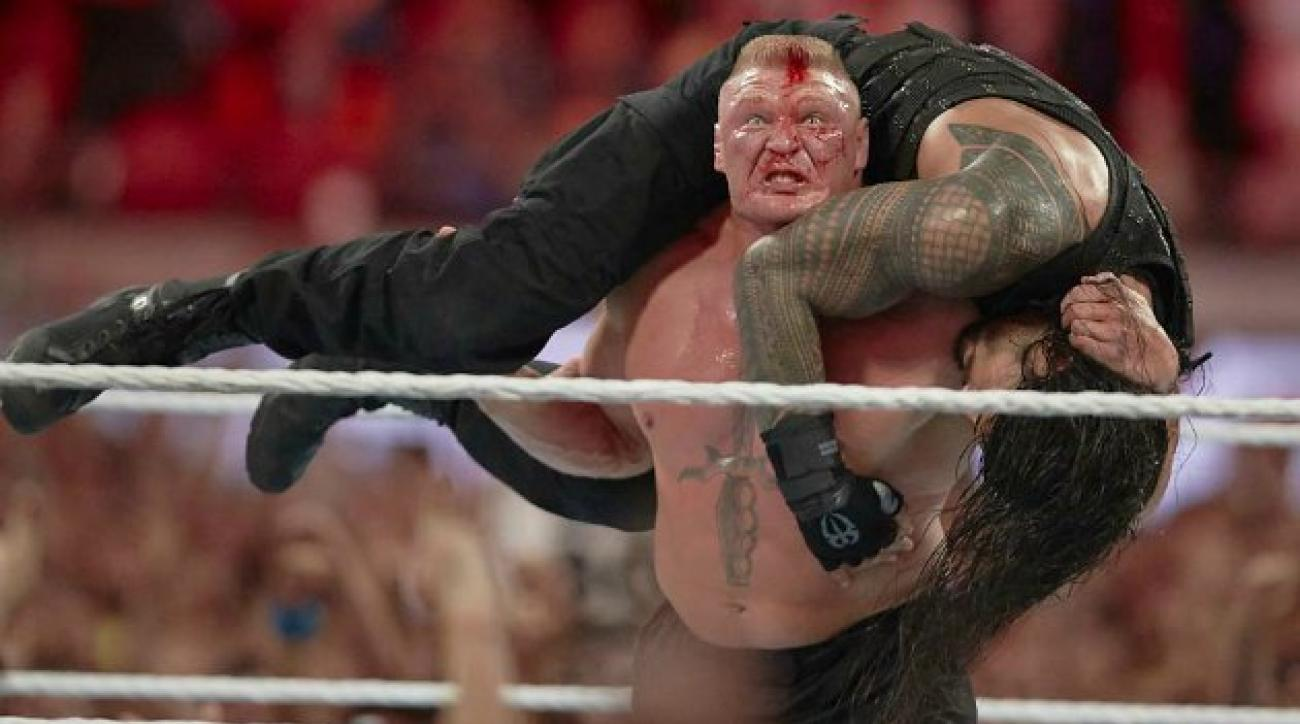 Brock Lesnar at Wrestlemania