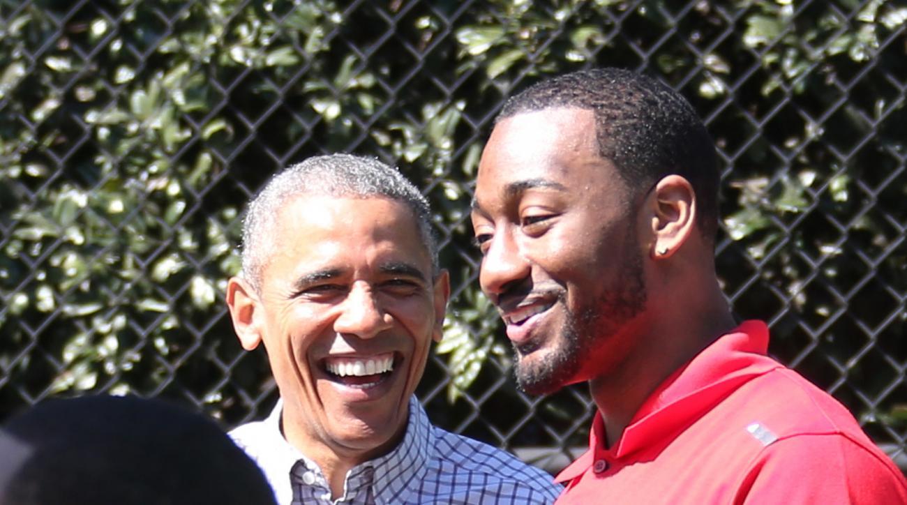 justin bieber barack obama john wall basketball
