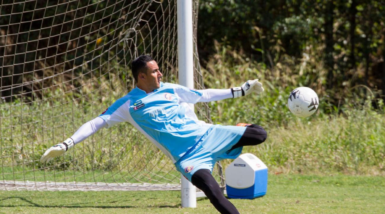 costa rica keylor navas out gold cup achilles injury