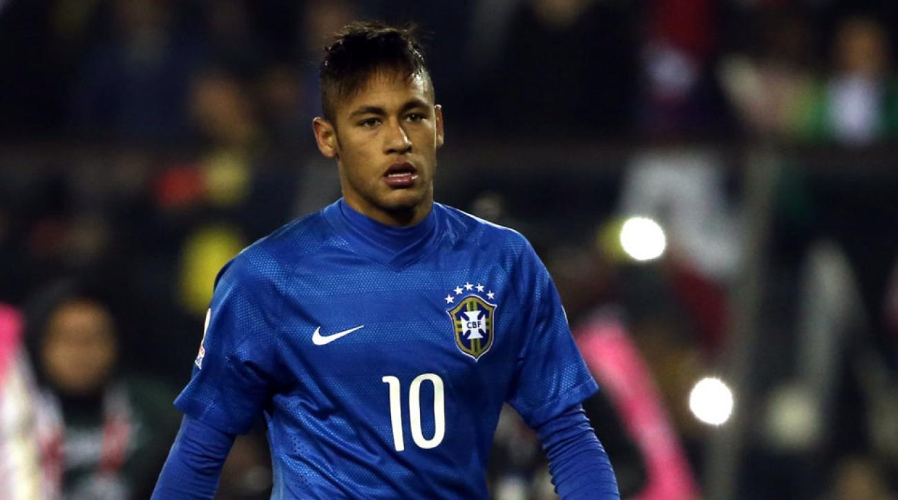 neymar suspended two games provisionally
