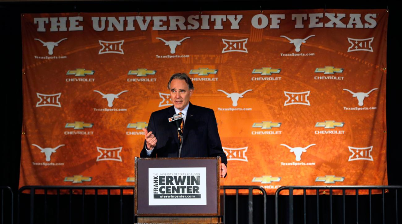 Steve Patterson Texas Longhorns support questioned