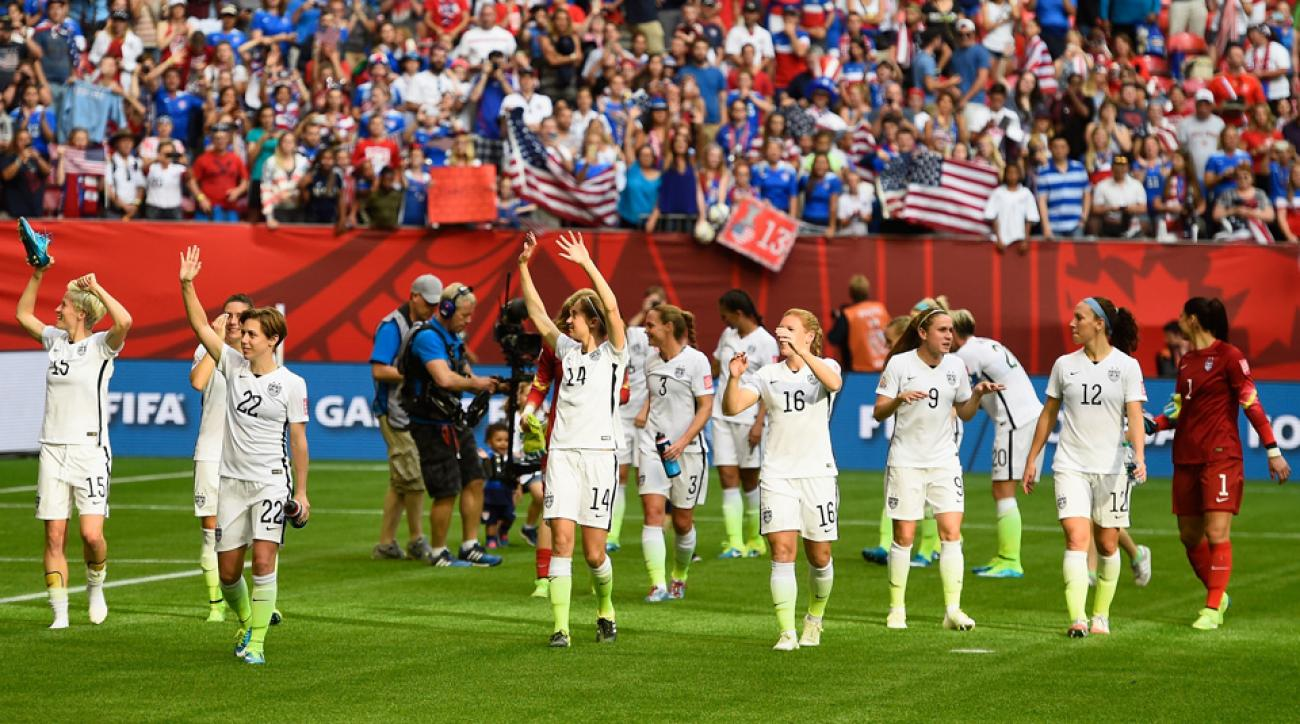 U.S. women's national team looks ahead to the World Cup knockout stage