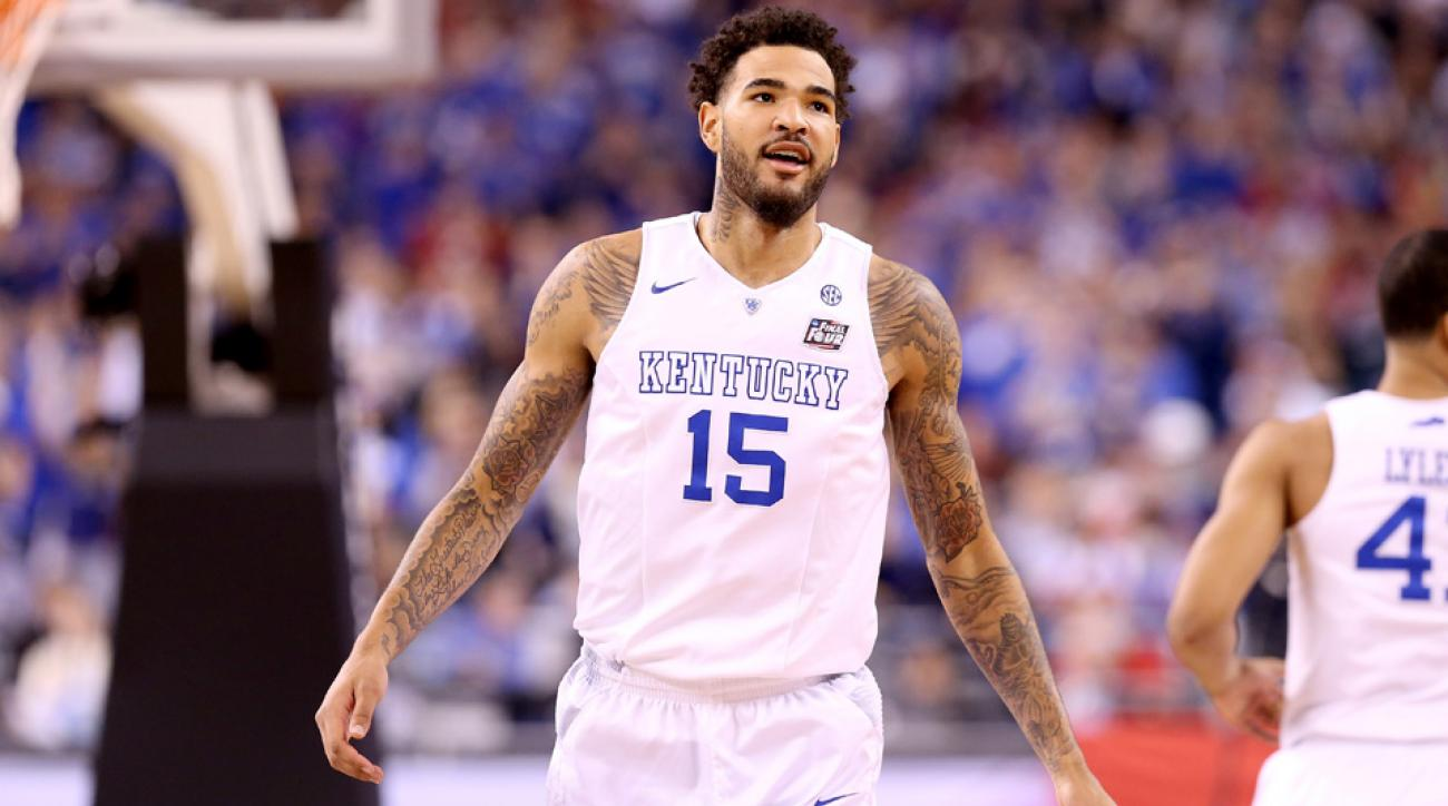 NBA draft rumors include Willie Cauley-Stein drawing interest from the Celtics.