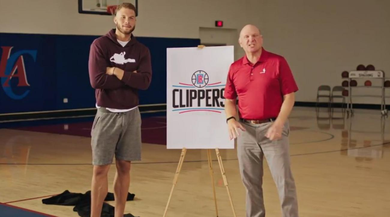 Clippers new logo behind the scenes video starring Blake Griffin, Steve Ballmer