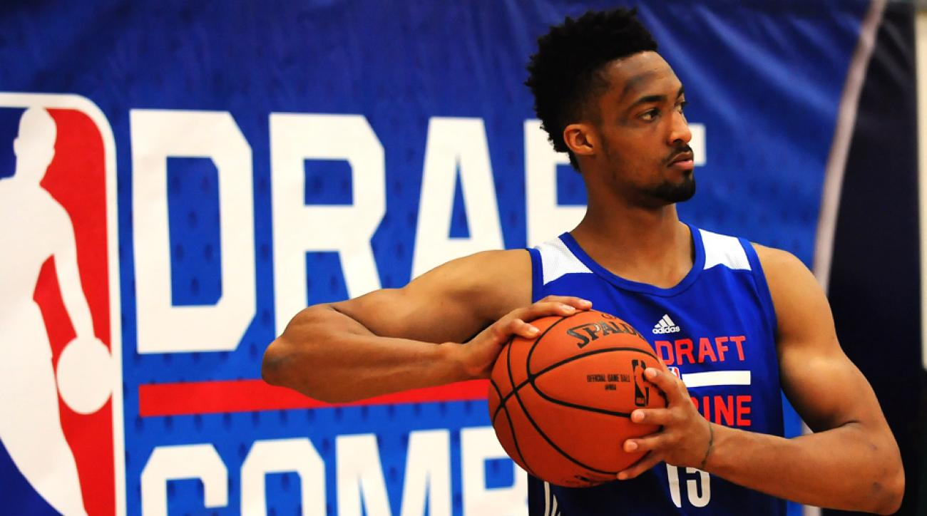 J.P. Tokoto hopes a standout combine will lead to being selected in the 2015 NBA draft.