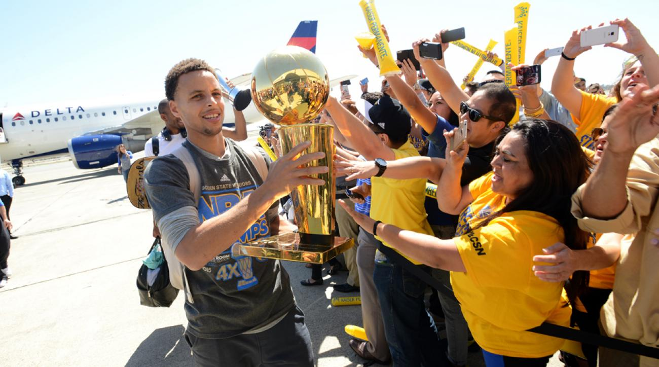 Golden State Warriors will hold their NBA Finals championship parade on Friday.