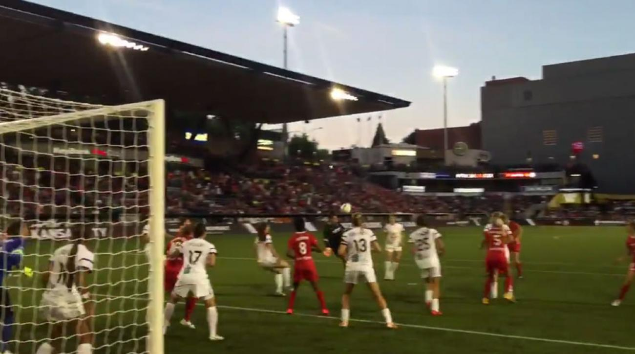 portland thorns michelle betos equalizer