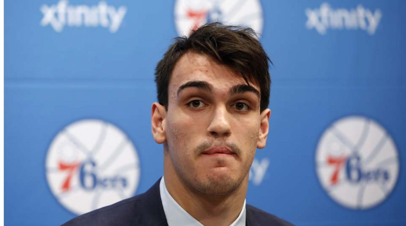 Dario Saric won't play for 76ers next year