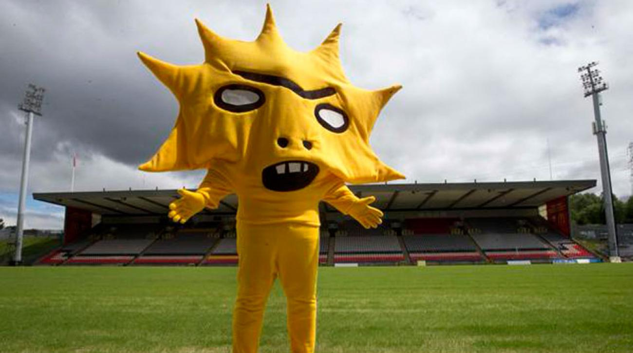 Partick Thistle New Mascot
