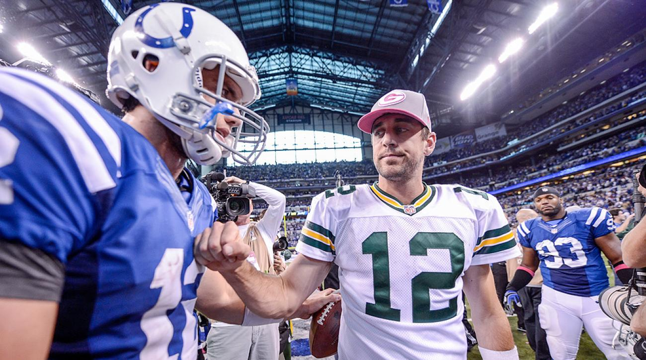 Aaron Rodgers or Andrew Luck? Dez Bryant or Odell Beckham? Toss-ups of elite NFL players