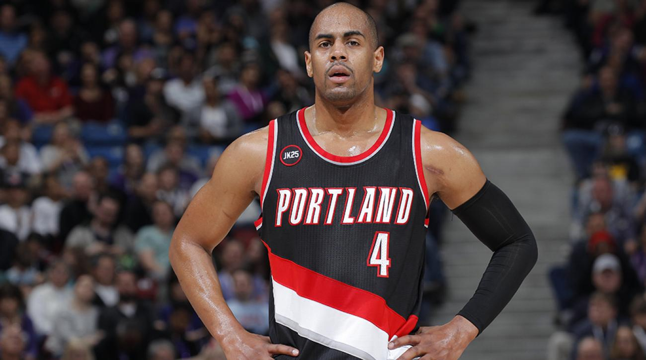 portland trail blazers arron afflalo contract opt out