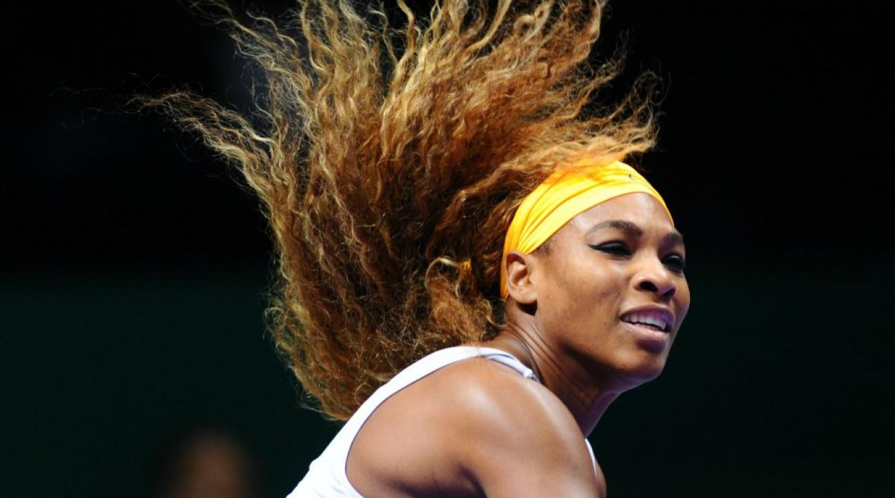 Serena Williams is not as good at diving as she is at tennis