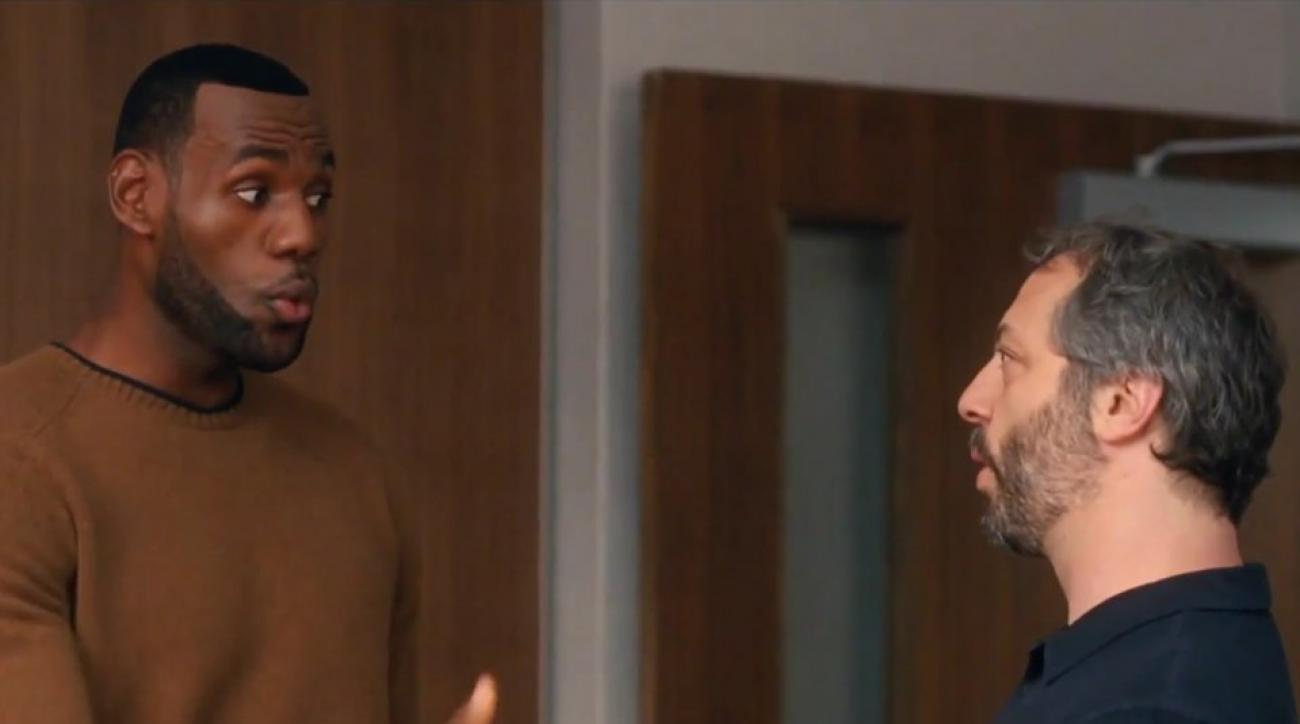 LeBron James changed his voice for Judd Apatow in Trainwreck