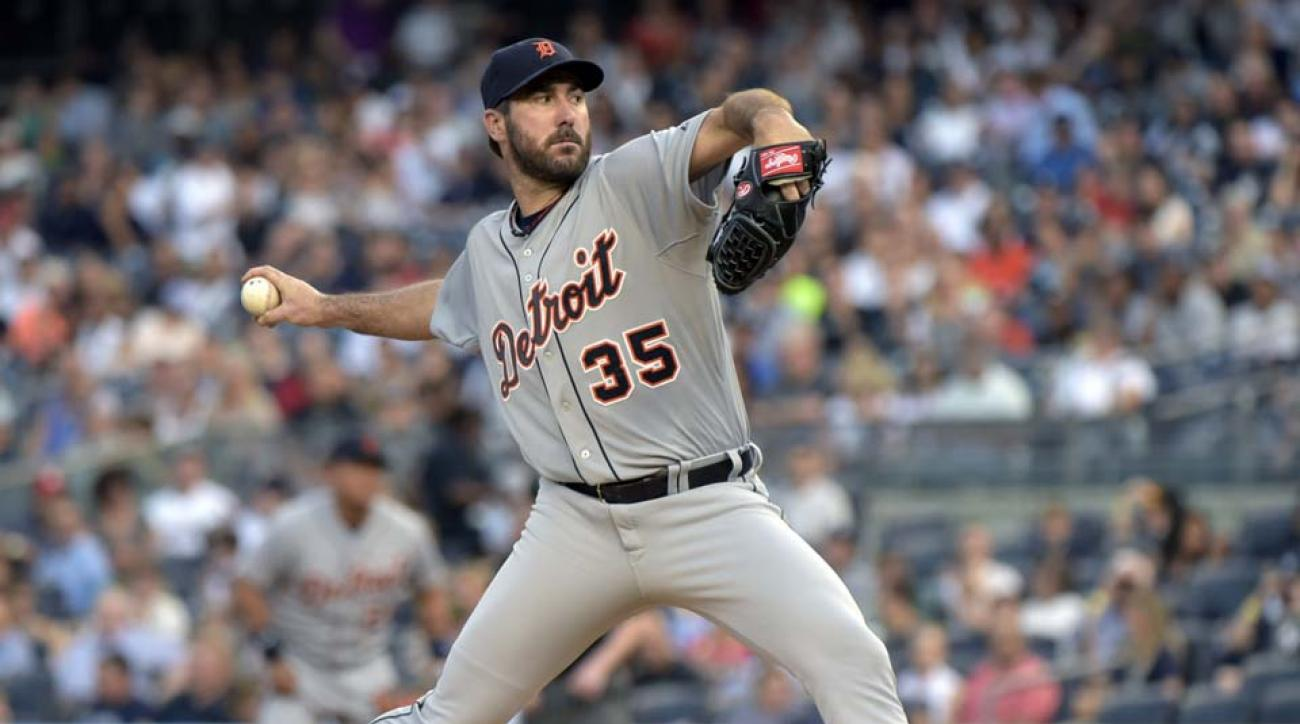 Justin Verlander scratched from start