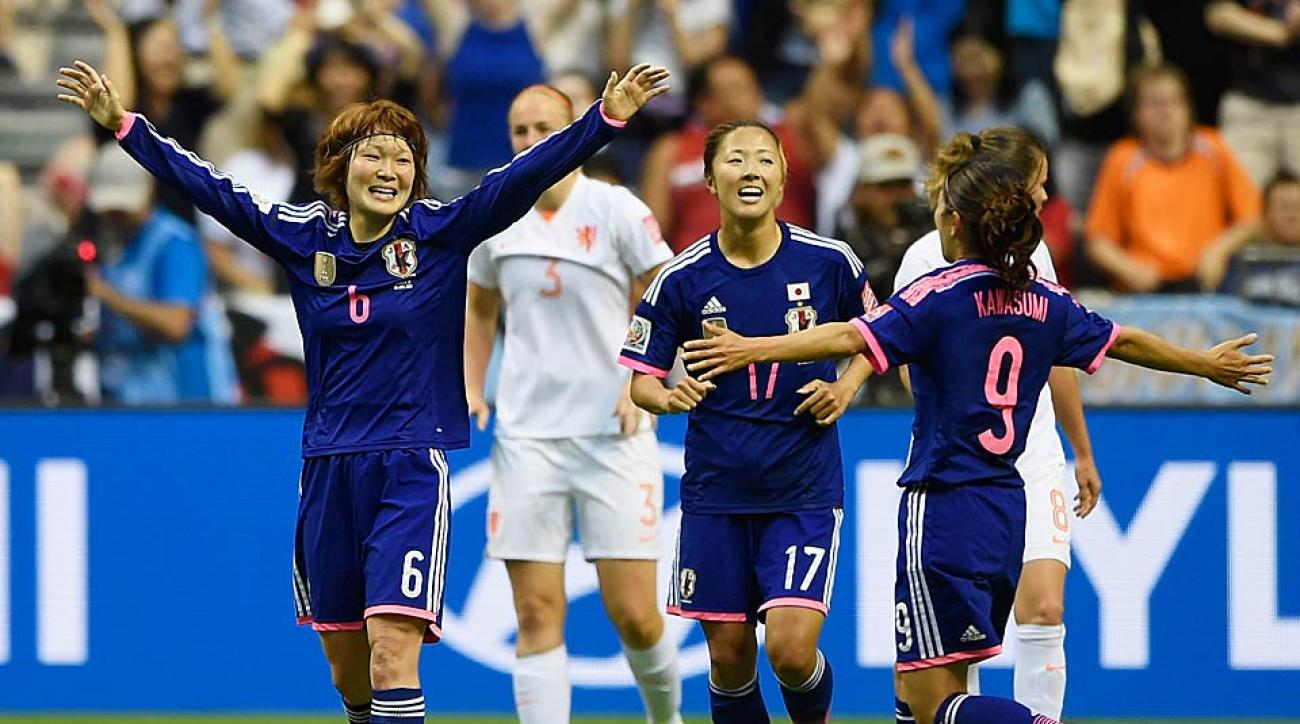 Japan vs. Netherlands Women's World Cup Round of 16