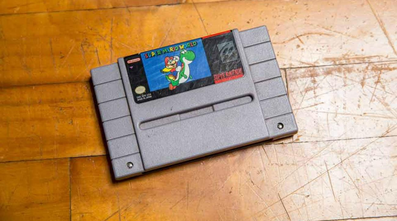 Super MArio World beaten in 23 minutes while blindfolded