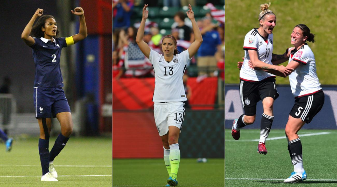 France, USA, Germany Women's World Cup teams among favorites to win it all
