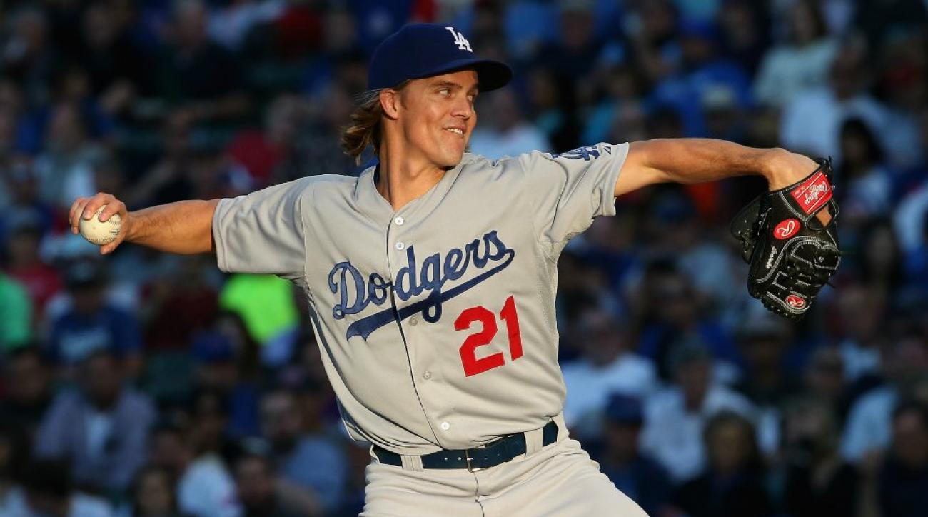 Zack Greinke had to remind his Dodgers teammates to wash their hands after using the bathroom
