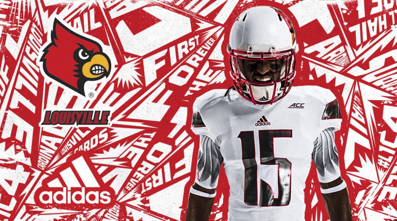 premium selection f8b62 37d2b University of Louisville unveils new uniforms