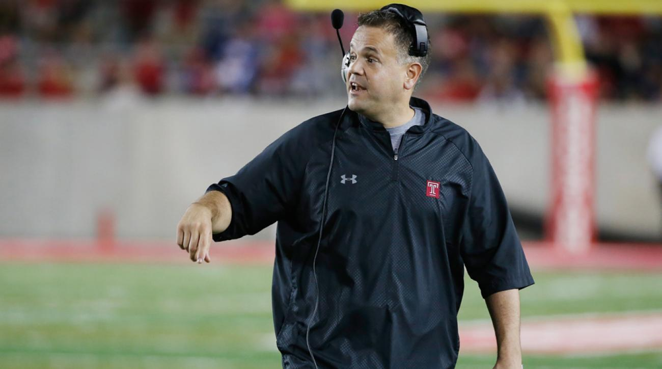 Matt Rhule, Temple agree to contract extension