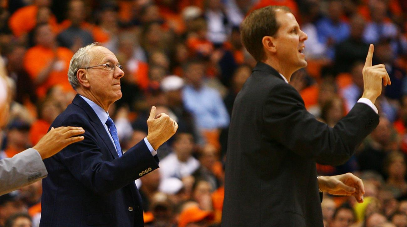 Mike Hopkins Jim Boeheim Syracuse Orange head coach