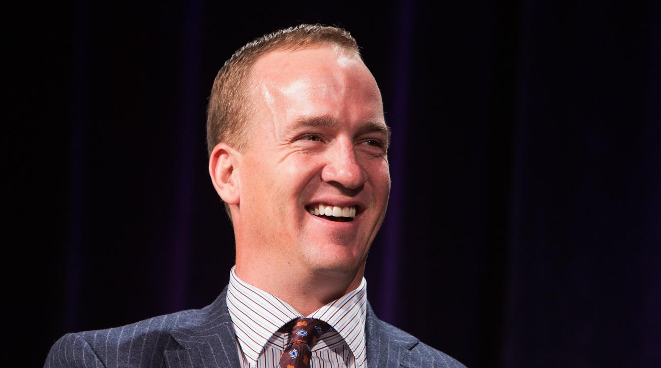 Peyton Manning Denver Broncos hand written letter