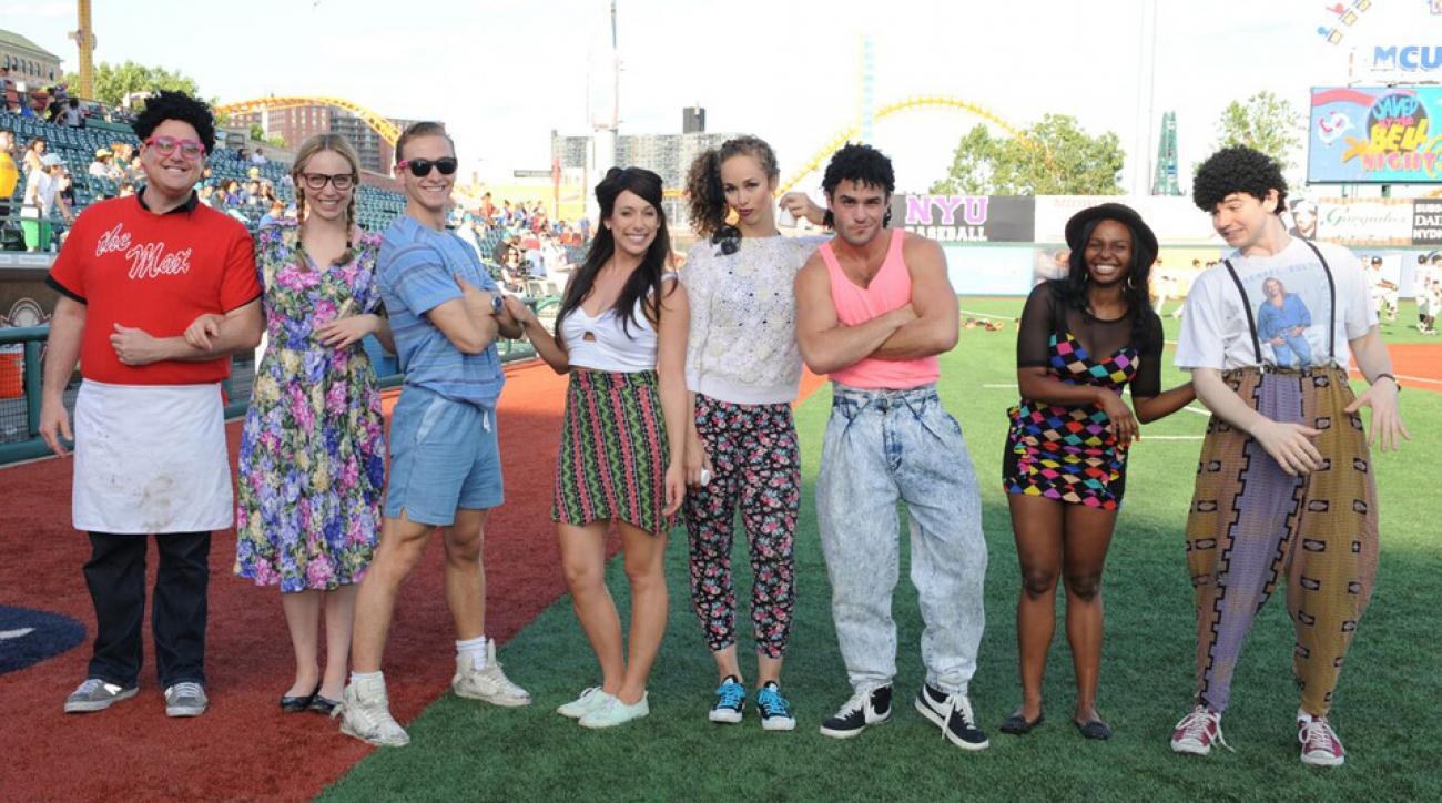Brooklyn Cyclones celebrate 'Saved by the Bell' night