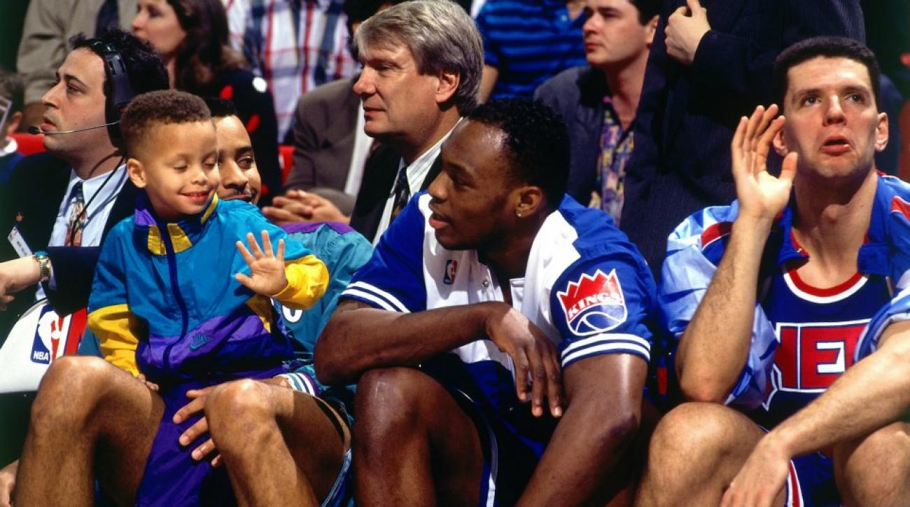 Drazen Petrovic's mother babysat Stephen Curry during 1992 3 point contest