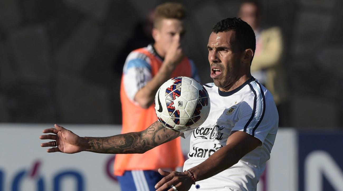 Argentina's Carlos Tevez could be headed back to Boca Juniors