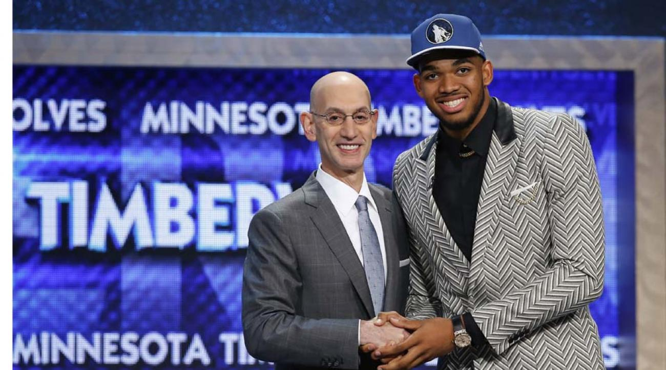 Wolves take Towns with No. 1 pick