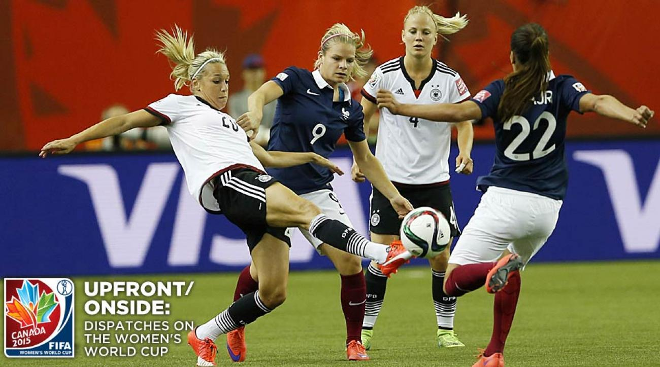 France vs. Germany Women's World Cup