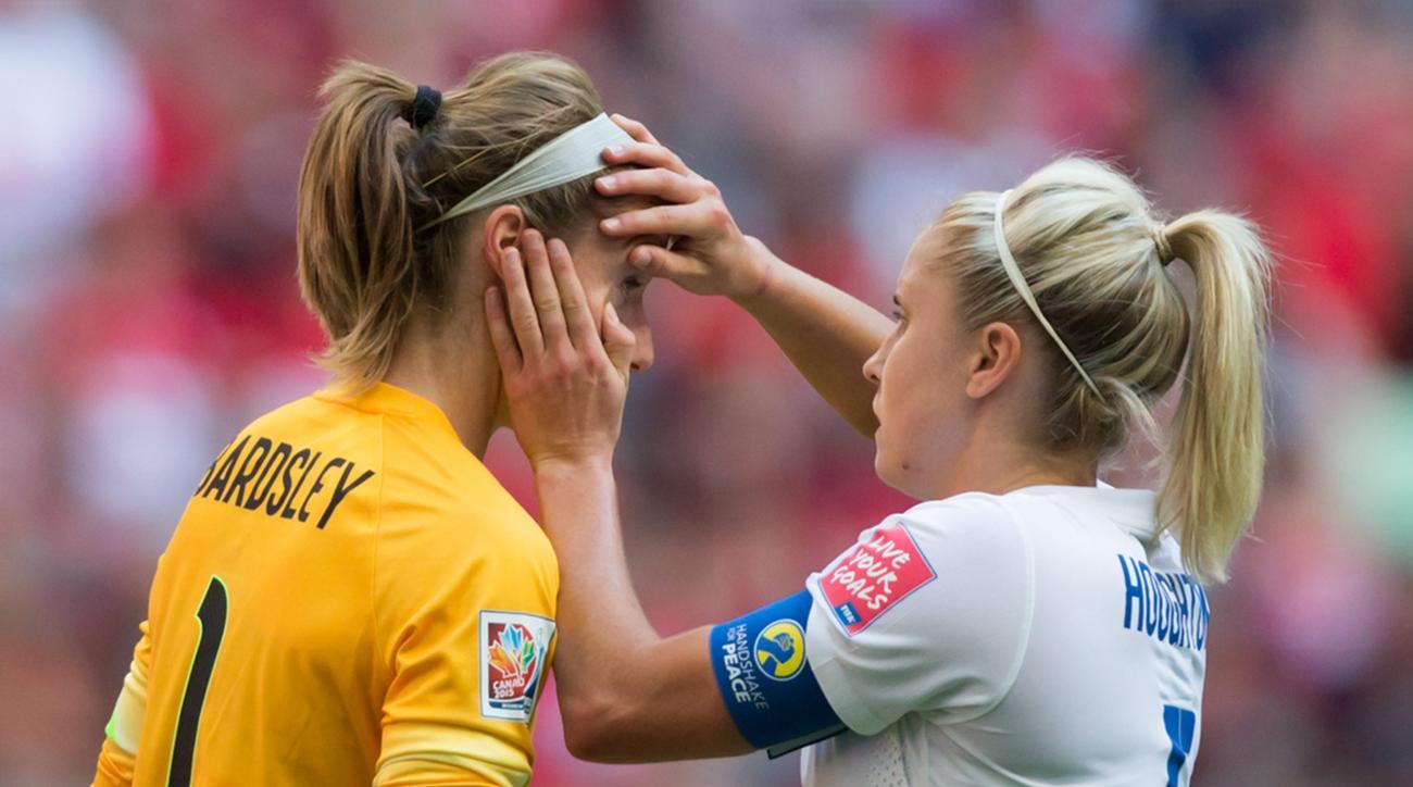 womens world cup england japan karen bardsley injury update
