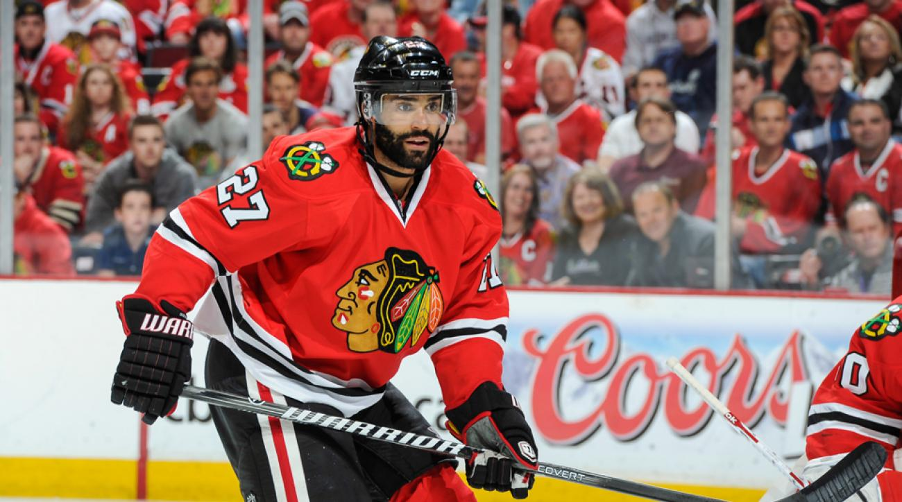 Chicago Blackhawks Johnny Oduya free agency
