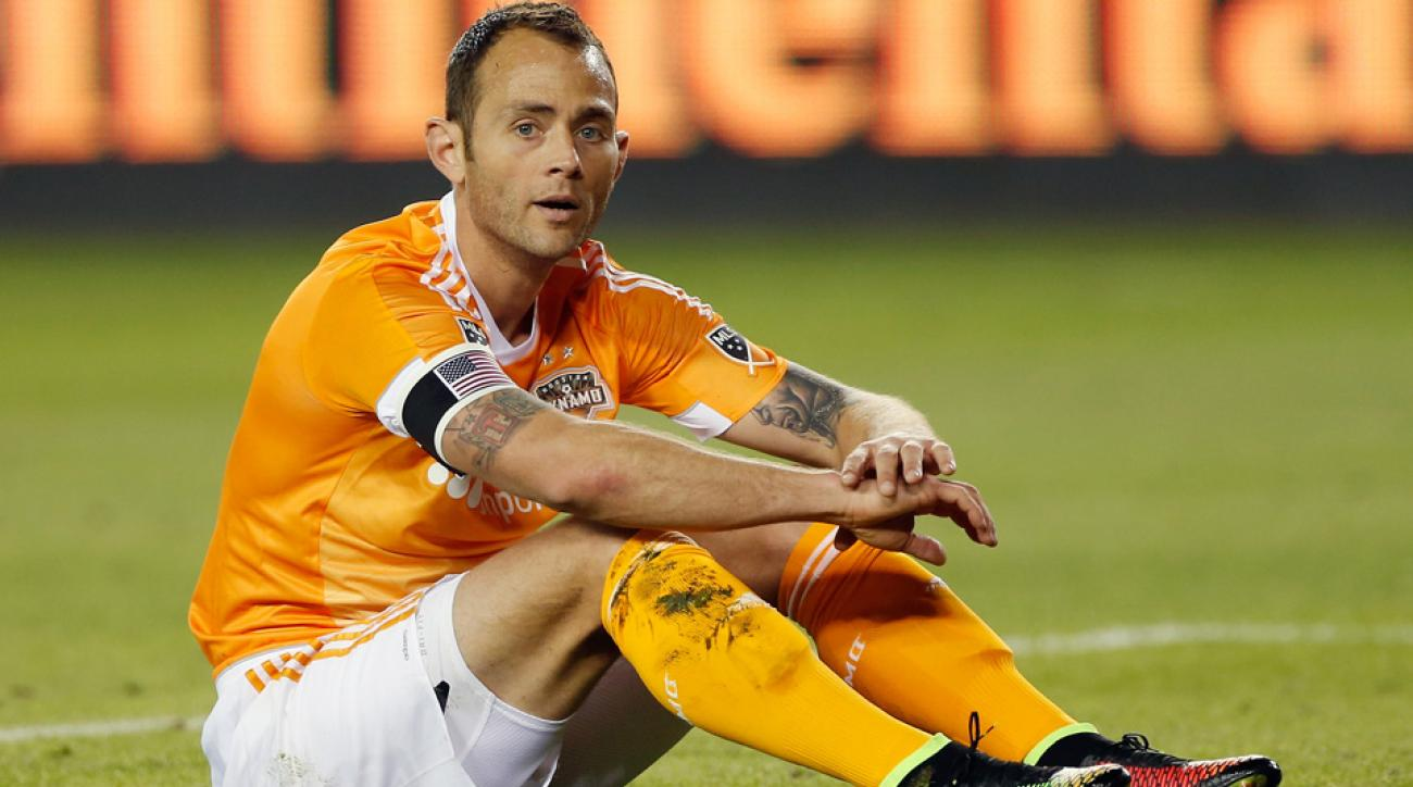 USA's Brad Davis has been ruled out for the CONCACAF Gold Cup with a knee injury