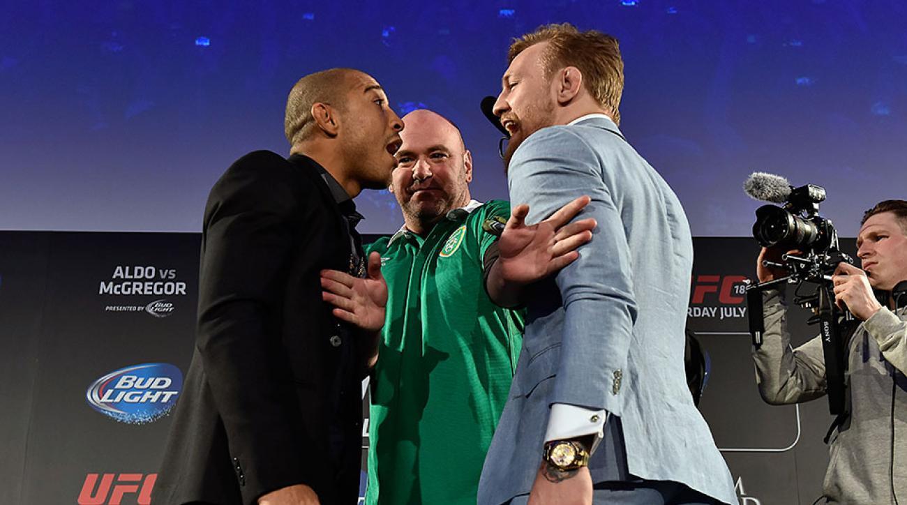 Jose Aldo UFC 189 Conor McGregor