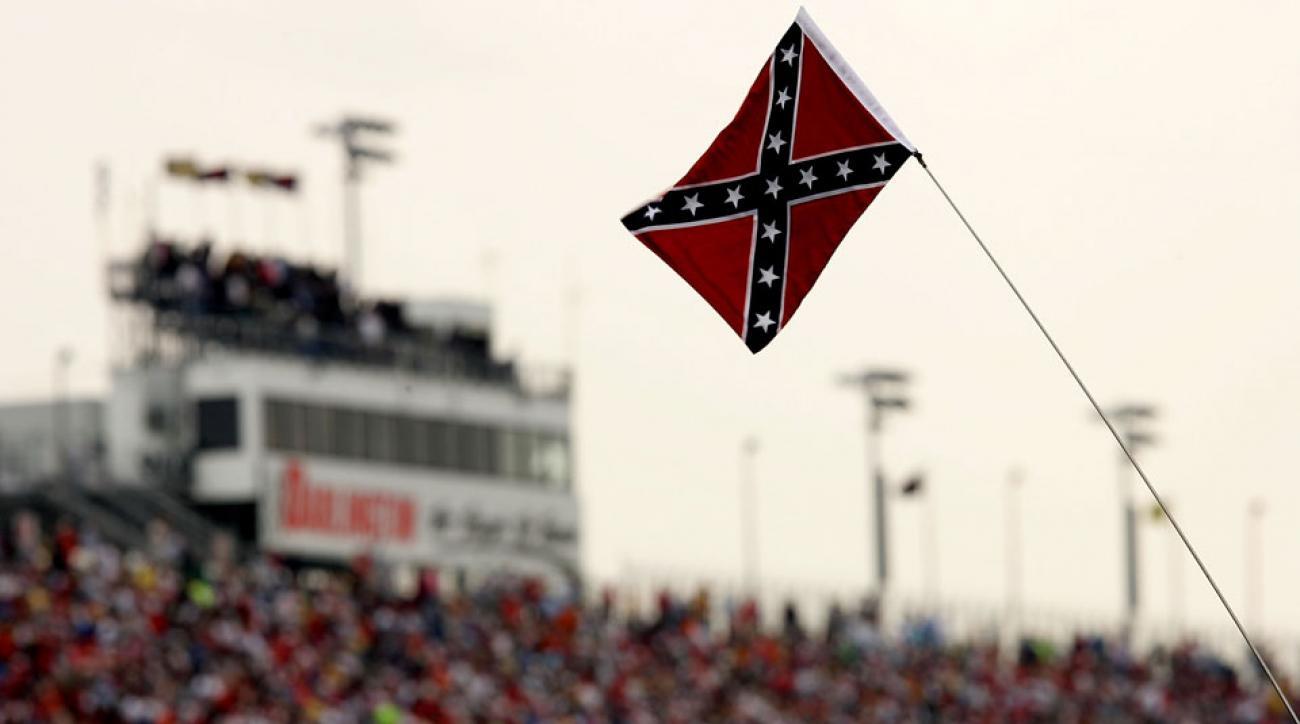 nascar confederate flag