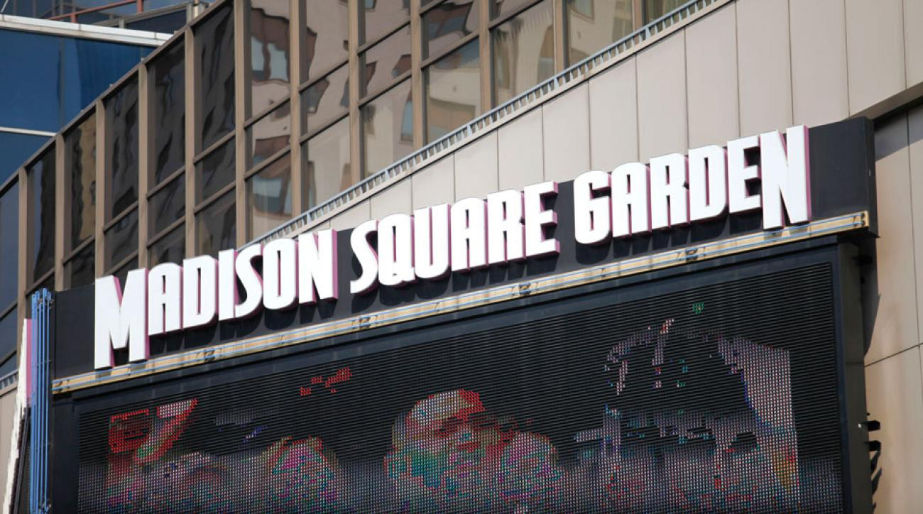 pope visits madison square garden